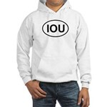 IOU European Oval Cheap Skate Hooded Sweatshirt