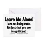 Leave Me Alone! Greeting Cards (Pk of 10)