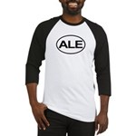 ALE Beer Lager Brew European Oval Baseball Jersey