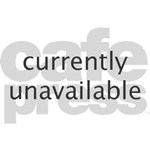 Snowflake Winter European Oval Teddy Bear