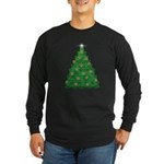 Celtic Christmas Tree Long Sleeve Dark T-Shirt