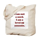 Not Nerd Assassin Tote Bag