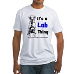 It's A Lab Thing Fitted T-Shirt