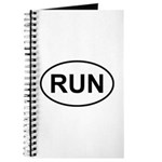 Run Runner Running Track Oval Journal