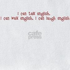 I can walk English Bib