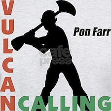 vulcan calling pon farr t-shirt