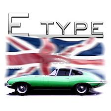 E-type jaguar tshirt