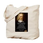 Thomas Hobbes: War Tote Bag