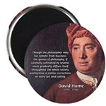 """David Hume Philosophy 2.25"""" Magnet (100 pack)"""
