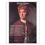 David Hume Philosophy Small Poster