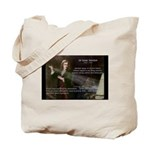 Sir Isaac Newton: Gravity Tote Bag