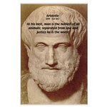 Greek Philosophers: Aristotle Large Poster