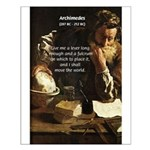 Greek Mathematician: Archimedes Small Poster