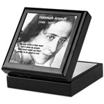 Philosopher: Hannah Arendt Keepsake Box