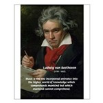 Classical Music: Beethoven Small Poster