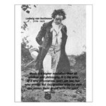 Ludwig van Beethoven Small Poster
