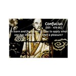 Confucius Rectangle Magnet (10 pack)