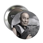 "The 14th Dalai Lama 2.25"" Button (100 pack)"