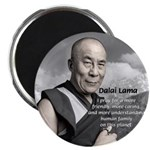 "The 14th Dalai Lama 2.25"" Magnet (100 pack)"
