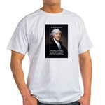 Politics: George Washington Ash Grey T-Shirt