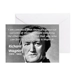 Musician Richard Wagner Greeting Cards (Package of