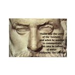 Greek Philosophy: Thales Rectangle Magnet (100 pac
