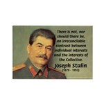 Joseph Stalin Rectangle Magnet (100 pack)