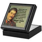 Joseph Stalin Keepsake Box