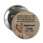"Feminist Sojourner Truth 2.25"" Button (100 pack)"