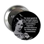 "Mary Shelley Frankenstein 2.25"" Button (100 pack)"