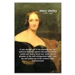Writer Mary Shelley Large Poster