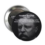 """President Theodore Roosevelt 2.25"""" Button (100 pac"""