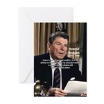 President Ronald Reagan Greeting Cards (Package of