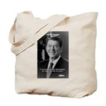 Humour of Ronald Reagan Tote Bag