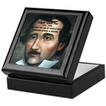 Writer Edgar Allan Poe Keepsake Box