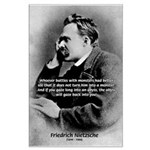 Christian Morality / Nietzsche Large Poster