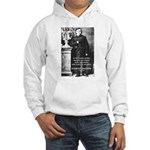 Critic of Religion: Nietzsche Hooded Sweatshirt