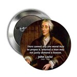 "Philosophy John Locke 2.25"" Button (10 pack)"