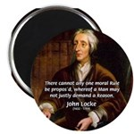"Philosophy John Locke 2.25"" Magnet (10 pack)"
