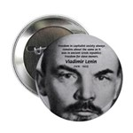 """Capitalism and Lenin 2.25"""" Button (100 pack)"""