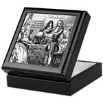God Unity of All: Leibniz Keepsake Box