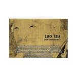 Law of Nature: Lao Tzu Rectangle Magnet