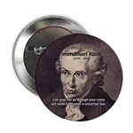 """Universal Law: Kant 2.25"""" Button (100 pack)"""