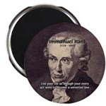 """Universal Law: Kant 2.25"""" Magnet (100 pack)"""