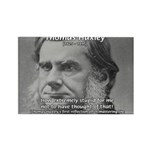 Thomas Huxley and Darwin Rectangle Magnet (10 pack