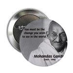 Loyalty to Cause: Gandhi Button