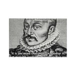 Power of Mind: Montaigne Rectangle Magnet