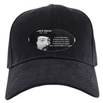 Philosopher Francis Bacon Black Cap
