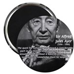 "British Philosophy Ayer 2.25"" Magnet (10 pack)"