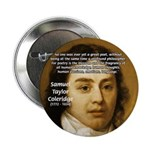 "Samuel Taylor Coleridge Poet 2.25"" Button (10 pack"